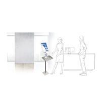 MAGNETOPLAN – Station d'hygiène 146 x 40 x 32 cm avec signe info