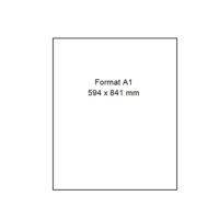Papier Photo pour traceur et imprimante – PMC 180FD – A1