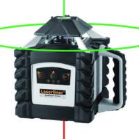 Laserliner- Laserrotatif double pente – Quadrum Green 410 S SET
