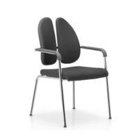 DUO-BACK – Chaise de conférence modèle Xemium-S